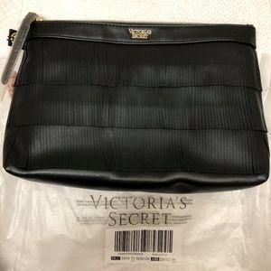 victoria secret fringe clutch bag